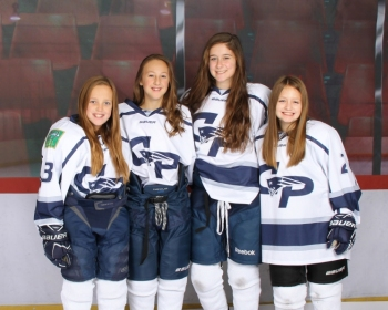 Group Girls Hockey Photo