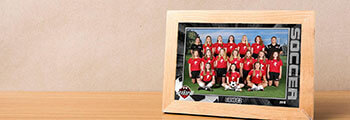 Youth sports picture frame